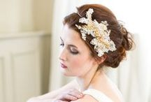 Gold Dust Bridal Headpiece Collection / Organic, nature inspired bridal headpieces, crowns, halos, combs and pins. All handmade with freshwater pearls, swarovski crystals and gold, silver and rose gold findings