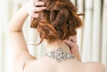 Celebration Bridal Headpiece Collection / Art Deco, Great Gatsby inspired statement rhinestone bridal headpieces and forehead bands, perfect for sparkling your way down the aisle.