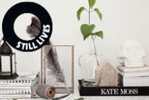 Vignettes I like / Stylish still lives to draw inspirations from for your own home, pinned by Maria Soxbo – Husligheter.se.
