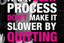 Fitness tips and motivation! / Diet and exercise motivation. Get moving! You can do it!!