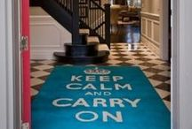 {keep calm} / inspiration from keep calm and carry on...and other wonderful sayings