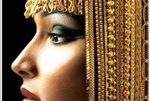 ♦ ♛ ♦ Egyptiαn Qʊεεn♦ ♛ ♦ / Egyptian Fashion, Jewels & Style / by Deborah Escobar