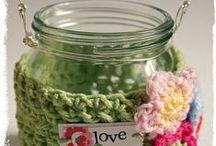 ~ Crochet Mason jar Cozy ~