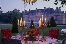༻✿ ʆℯ Ꮳɧαʈeαu ✿༺ / ~~from small cottages to opulent chateaus ~~ / by Deborah Escobar