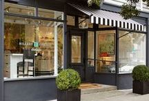 Retail Spaces - Interiors / 1500 square feet or less / by Nicola Chipps