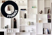 Storage I like / Stylish storage ideas for your home, pinned by Maria Soxbo – Husligheter.se.