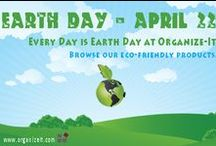 Eco-Friendly Living, Products, Tips / Earth Day celebrates the earth and its natural, beautiful resources. Celebrate with eco-friendly products, including bio-degradable cleaning products, compost pails, trash recycling cans and more.