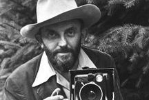 Ansel Adams / Ansel Easton Adams (1902 – 1984) was an American photographer and environmentalist. With Fred Archer, Adams developed the Zone System as a way to determine proper exposure and adjust the contrast of the final print. The resulting clarity and depth characterized his photographs. Adams primarily used large-format cameras because their high resolution helped ensure sharpness in his images.
