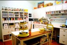Art Studio Organization, Furniture and Supplies / Art studio and craft room organizing, furnishings, supplies and more. Whether you are an artist setting up studio, a scrapbooking expert, or a creative kid (adult or child), you're sure to find some interesting ideas, tips and products on this art studio organization board.