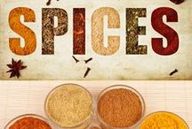 Herbs and Spices / Herbs and spices are kitchen staples and keeping them organized can be a challenge. This board has everything you need to streamline your food seasoning, making a more efficient kitchen. Find tips about spice storage, spice racks, drying herbs and both commercially-available and DIY spice storage products.