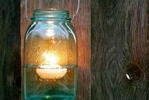 {Crafts} Glass Jars and Bottles / by Sondra {essentially joyful}