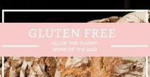 {Gluten Free} / Enjoy life without all of the bad in it. Gluten free breakfast, lunch, dinner and snacks