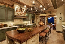 Vacation home kitchens/dining