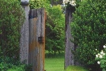 Ideas for the garden / Beautiful garden ideas to inspire / by Stephanie Walmsley