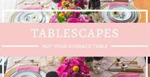 Wedding Tables / Centerpieces and everything related to table design