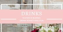 {drink} / We all get thirsty. Drinks something other than water.