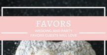 {Favors} / Give your wedding guests favors they will actually love
