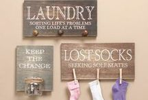 laundry. / by Samantha Parmerlee
