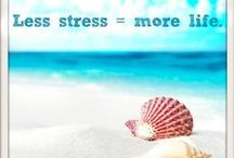 LEF: Stress-Free / Feeling stressed out? Here are some tips to help you relax and be stress-free: