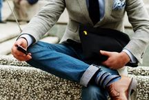 """Manic Monday - Men's Fashion / Men's style basics: from ties to cologne """"his style"""" pieces from head to toe!"""