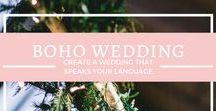 {Boho Wedding & Inspiration} / Create a wedding that speaks your language