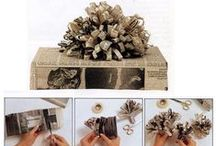 Gift Wrap Ideas / DIY Wrap, Tags, Gift Cards Etc / by Melanie Nolan