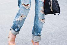 The perfect pair of boyfriend jeans / boyfriend jeans