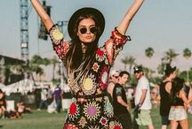 Festival fashion / Coachella, Stagecoach, Burning Man, Outside Lands, all the cute styles and looks right here for your festival adventures!