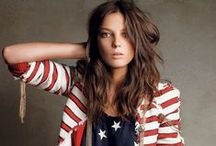 Fourth of July Fashion / How to be fashionably patriotic