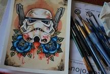 Star Wars / by Enspired Visions