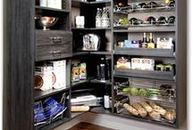 Kitchen Pantries / It's hard to find a cook who wouldn't love more storage in the kitchen. From redesigning existing pantries to installing a wall-mount system, Marco can deliver exactly the kind of storage solution you need for the way your family lives.