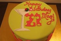 Ladies' Birthday Cakes / Custom birthday cakes created by The Icing Baking Company.