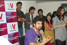 Celebrity visit to VV / Bollywood Celebrities' visit to Virtual Voyage, sharing  with students about Indian film Industry.