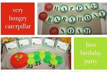Parties: Very Hungry Caterpillar / Party ideas for a Very Hungry Caterpillar birthday party