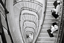 Hotel staircases