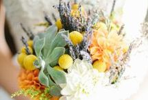 Wedding Flowers, Bouquets, & Poms / by Sarah @ Snixy Kitchen