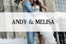WEDDING BELLS FOR ANDY & MELISA / Huwelijk Andy & Melisa a.s vrijdag 10 oktober 21.25 uur bij SBS6 het eerste gedeelte van de huwelijksvoltrekking van het jaar 2014. Andy van der Meijden en zijn Melisa treden in het huwelijk. Het was een geweldige happening samen met Ramona Poels, Romy Goossens, Mieke Kanters Fotogalerie Mieke/Atelier 14 en Koonings Bruidsmode. De trouwfoto's die deze dag zijn gemaakt zijn vastgelegd door (www.fotogaleriemieke.nl). Het design, de trouwjurk van Melisa is ontworpen door Ramona Poels van Koonings.