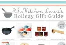 The Kitchen Lover's Gift Guide / A gift guide for the kitchen lover in your life - all under $100! When posting new items, please add the price in the description!