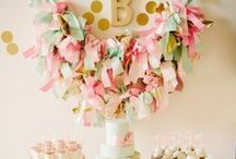 Baby Shower Ideas and Decorations / Baby Shower Ideas, Party decorations for baby showers, Sprinkles. / by Quilted Cupcake