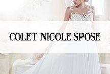 COLET NICOLE SPOSE / Colet is een collectie van het label Nicole Spose en is afkomstig uit  Italië. Deze bruidsjurken kenmerken zich door de verfijnde ontwerpen, het materiaalgebruik en de romantische uitstraling. Het merk Colet heeft dankzij de detaillistische bewerkingen een prachtige uitstraling. #colet #nicole #spose #trouwjurken #wedding #dresses #koonings