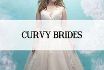 CURVY BRIDES/PLUS SIZE