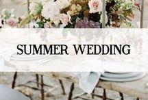 SUMMER WEDDING INSPIRATION