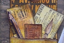 Tim Holtz Inspired Tags by Michelle McCosh / Tags made by Michelle McCosh