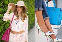 Spring Fashion / Fresh looks are in bloom this spring. We've got spring dresses and trendy separates, the freshest take on spring color trends, and great looking shoes, sandals, and other must-have accessories to brighten the season. Plus, look for those transition pieces that help bridge those chilly days and nights. We've got all looks, styles, and trends you love.