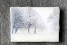 Encaustic / Encaustic wax and mixed media tips and inspiration / by Many Muses Studio