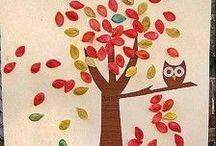 All The Fall Crafts + DIY / Fall-Inspired crafts and DIY for kids and moms alike!