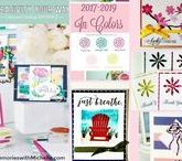 Stampin' Up 2017-2018 / Featuring Stamps, InColors, & Designs from the 2017-2018 Stampin' Up! Catalog.