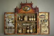 The Curio Cabinet / Small wonders and curiosities.