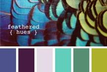Color Palletts / Color pallets  / by Samantha Cook (Quirk)