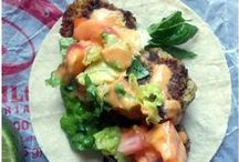 Tacos, tacos, tacos / Pretty much my favorite meal - easy to make gluten free AND delish.